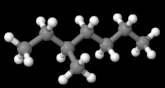 3-Methylheptane - Image: 3Methylheptane