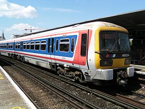 Network SouthEast - Image: 465034 at Waterloo East