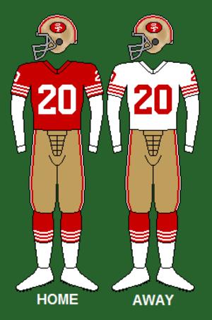 1971 San Francisco 49ers season - Image: 49ers 70 75