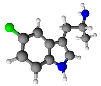 5-Fluoro-AMT - Image: 5 Fluoro α methyltryptamine