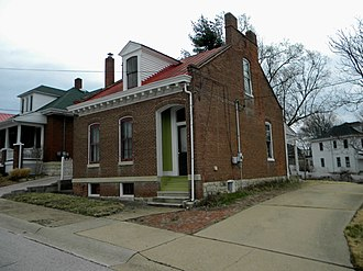 National Register of Historic Places listings in Franklin County, Missouri - Image: 607 Jefferson Washington