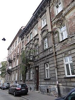 617073 Kraków Loretańska 12 kamienica 1.JPG