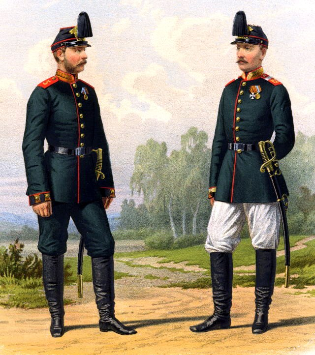 642 Changes in uniforms and armament of troops of the Russian Imperial army