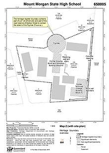 Jenks High School Campus Map.Mount Morgan State High School Wikipedia