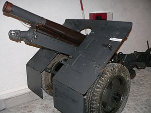 Bofors 75 mm Model 1934 - Image: 7.5 cm Mot Geb Kan 33 48, Morges