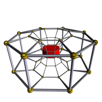 Omnitruncated tesseractic honeycomb - Image: 8 8 duoprism