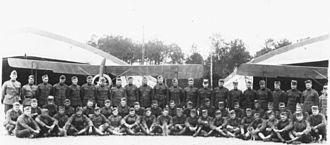 "106th Air Refueling Squadron - 800th Aero Squadron - Headquarters Flight ""A"" 5th Aerial Artillery Observation School."