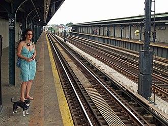 80th Street (IND Fulton Street Line) - Image: 80th Street (IND Fulton Street Line) by David Shankbone