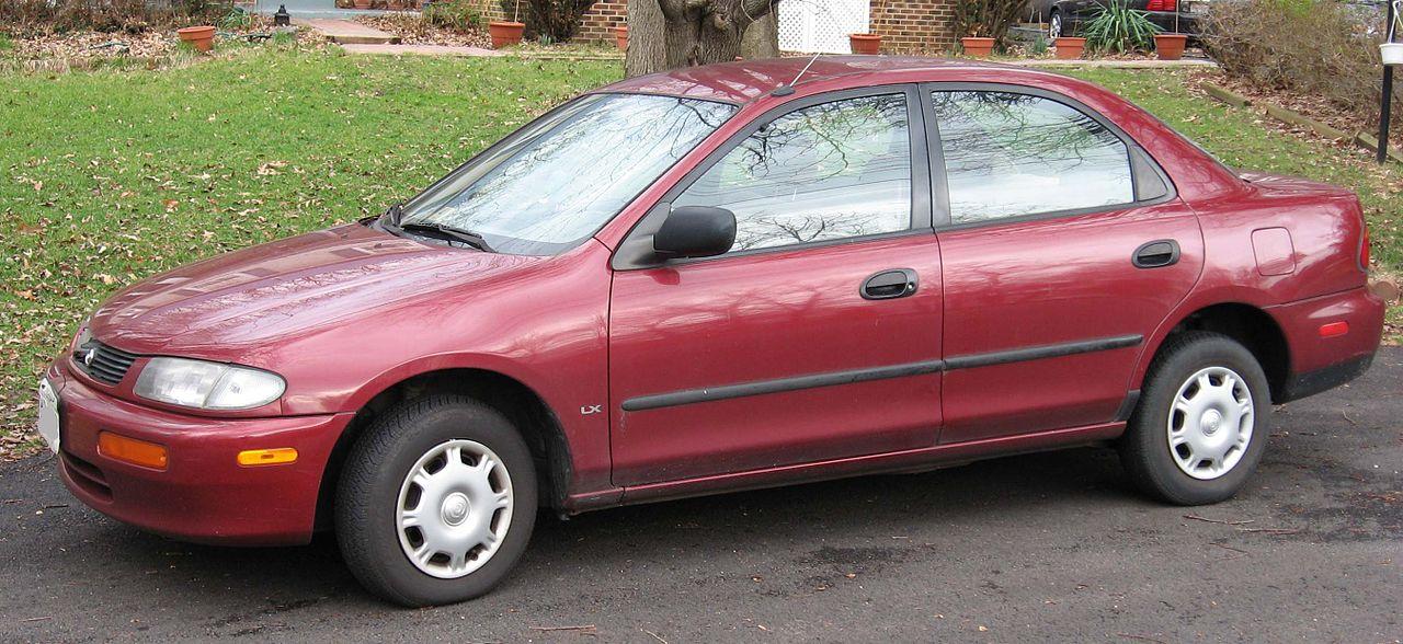 1995 mazda protege dx sedan 1 5l manual rh carspecs us 97 Mazda Protege mazda protege 5 manual manifold intake