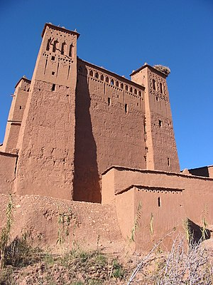 History of early Islamic Tunisia - Berber castle, at Aït Benhaddou.
