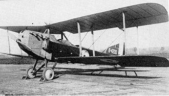 Armstrong Whitworth F.K.8 - Image: A.W. F.K.8 (Late production 1)
