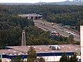 A4-Węzeł murckowski przed przebudową - panoramio.jpg