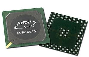 Geode (processor) - AMD Geode LX 800 (500 MHz, 0.9 W) processor.