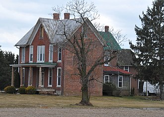 National Register of Historic Places listings in southern New Castle County, Delaware - Image: ARMSTRONG WALKER HOUSE, MIDDLETOWN, NEW CASTLE COUNTY