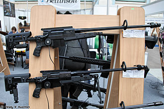 Brügger & Thomet APR - Image: ARMS & Hunting 2012 exhibition (473 24)