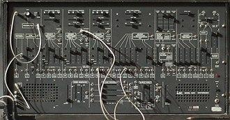 ARP 2600 - Image: ARP 2600 panel, Energo 2011