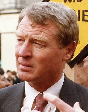 Social and Liberal Democrats leadership election, 1988 - Image: ASHDOWN Paddy