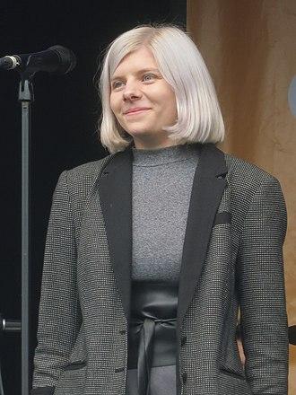 Aurora (singer) - Aurora Aksnes at Green Man Festival 2015.