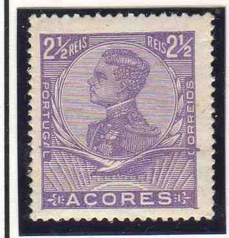 Postage stamps and postal history of the Azores - The 1910 King Manuel issue