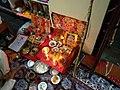 A Local Villager performing Diwali Pooja at home.jpg