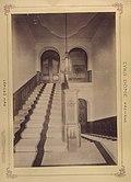 A Lyka-kastély lépcsőháza. A felvétel 1895-1899 között készült. A kép forrását kérjük így adja meg- Fortepan - Budapest Főváros Levéltára. Levéltári jelzet- HU.BFL.XV.19.d.1.12.028 Fortepan 83332.jpg