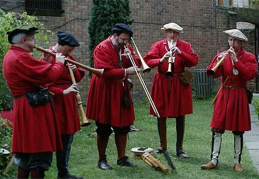 A band of modern waits (York, 2006)
