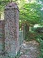 A brick wall enclosure - geograph.org.uk - 1501297.jpg
