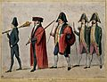 A mayorial procession with Daniel O'Connell. Coloured lithog Wellcome V0050217.jpg