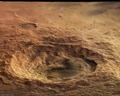 A perspective view of Maunder Crater ESA209521.tiff