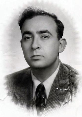 A portait of Shlomo Morag