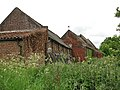 A row of brick barns - geograph.org.uk - 820628.jpg
