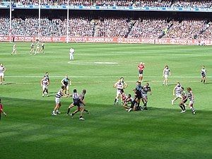 A vision of play during the 2007 AFL Grand Final.jpg