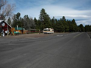 National Register of Historic Places listings in Coconino County, Arizona - Image: Abandoned Route 66 NRHP 89000378 Coconino County, AZ