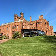 Abbey House Hotel south elevation