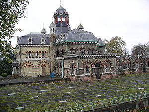 London sewerage system - The original Abbey Mills pumping station