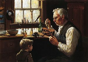 Abbott Fuller Graves - Image: Abbott Fuller Graves The Village Clockmaker