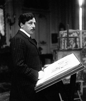 Abel Faivre - Abel Faivre, 1913