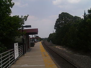 Absecon station - Platform view