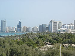 Skyline of Abu Dabi