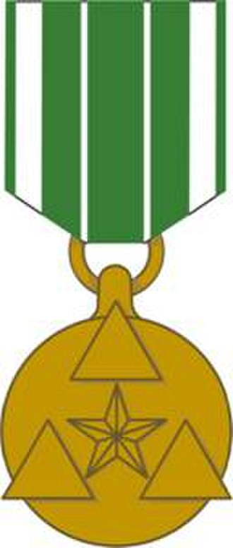 Department of the Army Civilian Awards - Image: Achievement Medal Civ Service Obverse