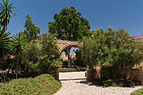 Acqueduct arch, Alcazaba gardens, Almeria, Spain.jpg