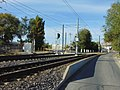 Across main line at non-revenue spur on TRAX, Salt Lake City, Oct 16.jpg