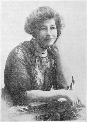 Ada Wells - Ada Wells in ca 1910