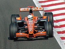Sutil Driving For Spyker At The 2007 Belgian Grand Prix