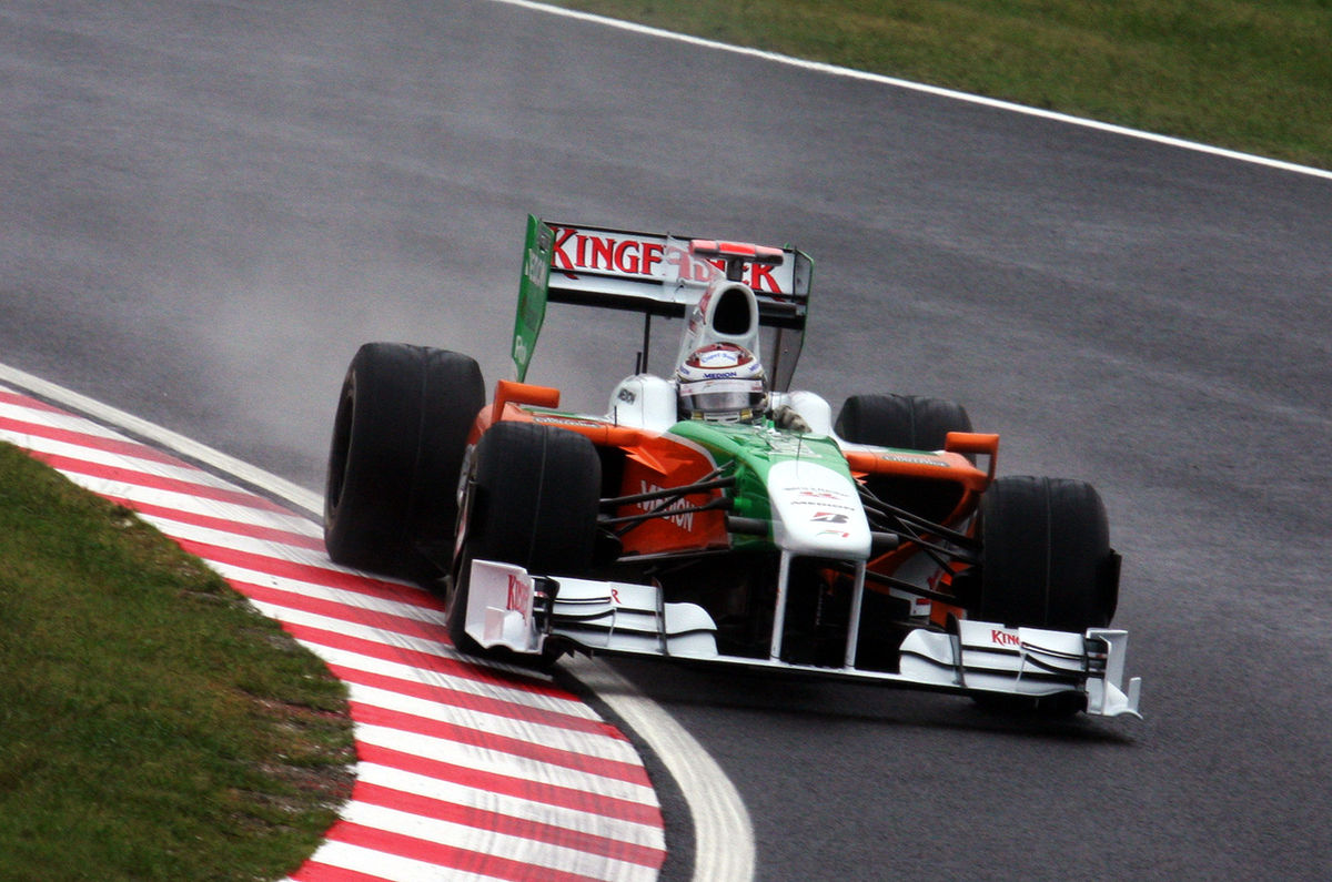 Px Adrian Sutil Japan St Free Practice on Honda Integra
