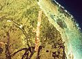 Aerial photographs airport runway Aguni in new construction 1977.jpg