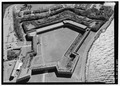 Aerial view of Fort Adams. - Fort Hamilton, Rose Island, Newport, Newport County, RI HAER RI-58-5.tif