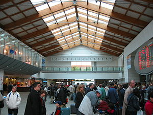 Venice Marco Polo Airport - View of the check-in area