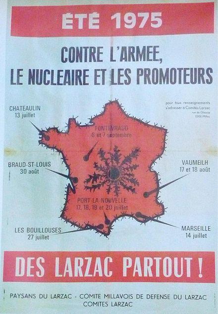 Du Larzac à Notre-Dame-des-Landes - Page 3 440px-Affiche_Larzac_75