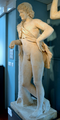 After Praxiteles (fl c360-340 BC) - Resting Satyr, plaster replica, front left, Ashmolean Museum, Oxford, May 2013 (8729009271).png